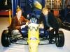 Signing the Van Diemen Contract in the UK - Jan 1999