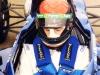 First test day of professional career, Snetterton, Norfolk - Feb 1999
