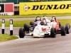 Taking the lead at Donnington Park - April 1999