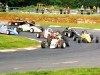 Mondello action - the chasing pack Formula Ford - 1997